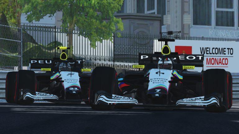 Gran Premio Monaco, Salida 1 vuelta