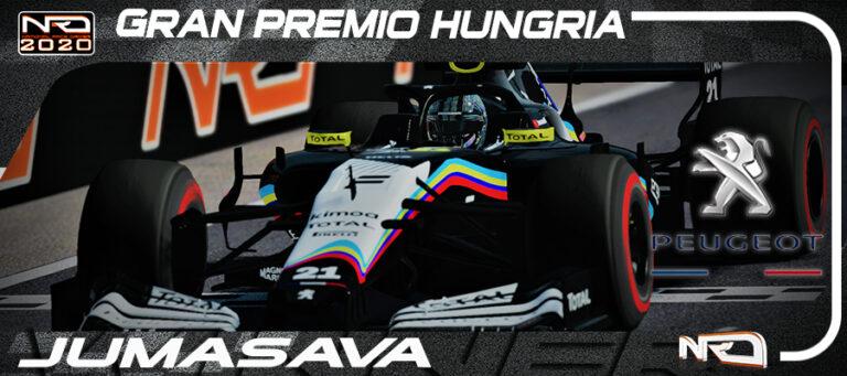 Jumasava69, en otro mundo. victoria en Hungría sin oposición.