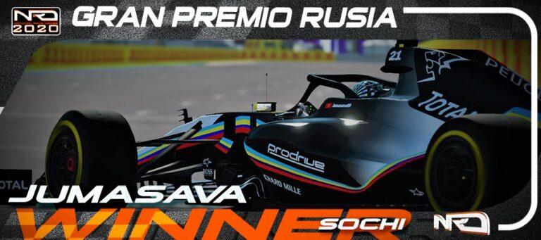 Jumasava69 sigue con el dominio de Peugeot en Sochi
