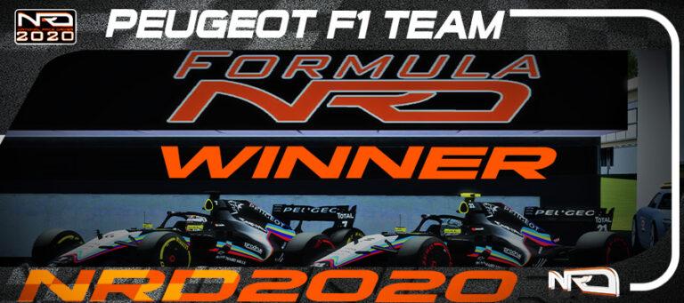 Peugeot se proclama campeón por cuarto año consecutivo.