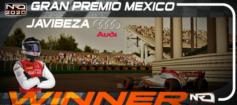 Javibeza gana en México y se pone líder, a falta de dos carreras.